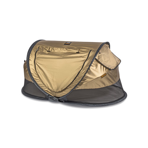 DERYAN DERYAN Peuter Luxe Campingbedje Gold - 2021