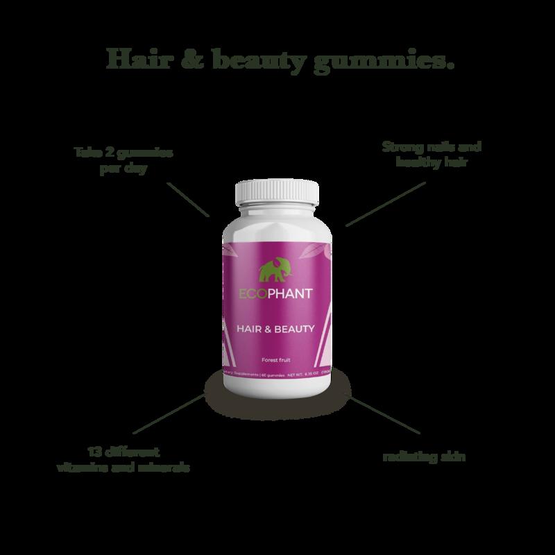 ECOPHANT Hair & Beauty Gummies