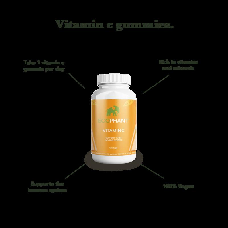 ECOPHANT Gummies à la vitamine C