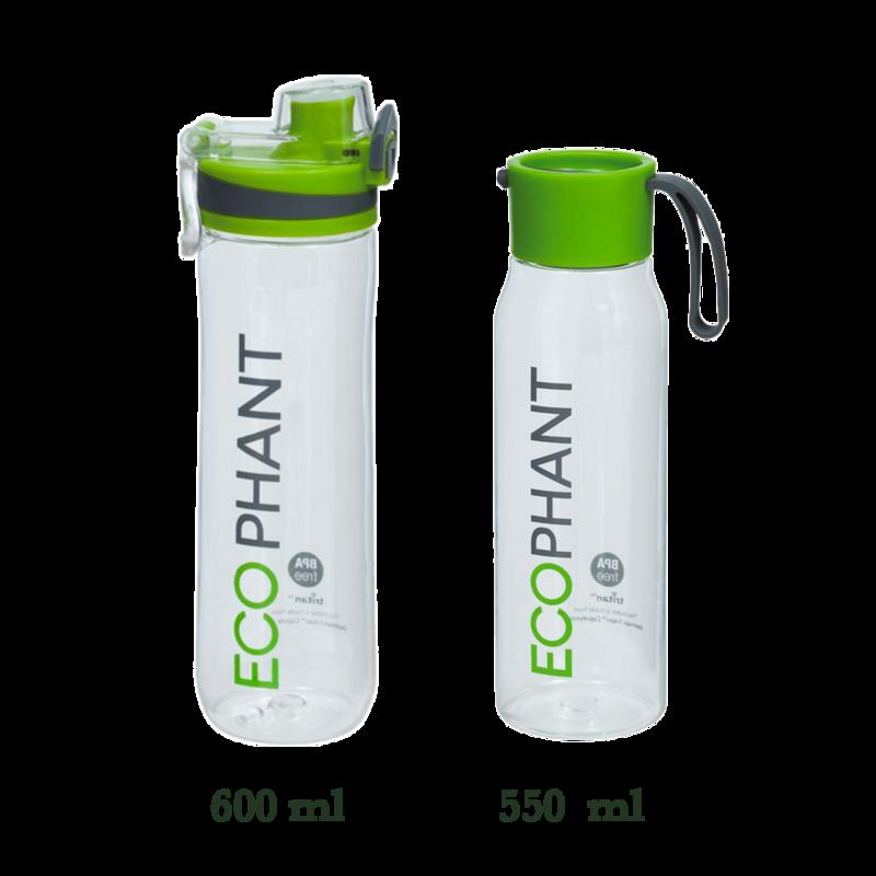 Ecophant Bouteille d'eau 600ml