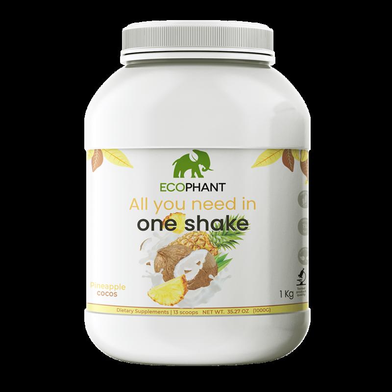 ECOPHANT Mahlzeitenersatz (Diät Shake)