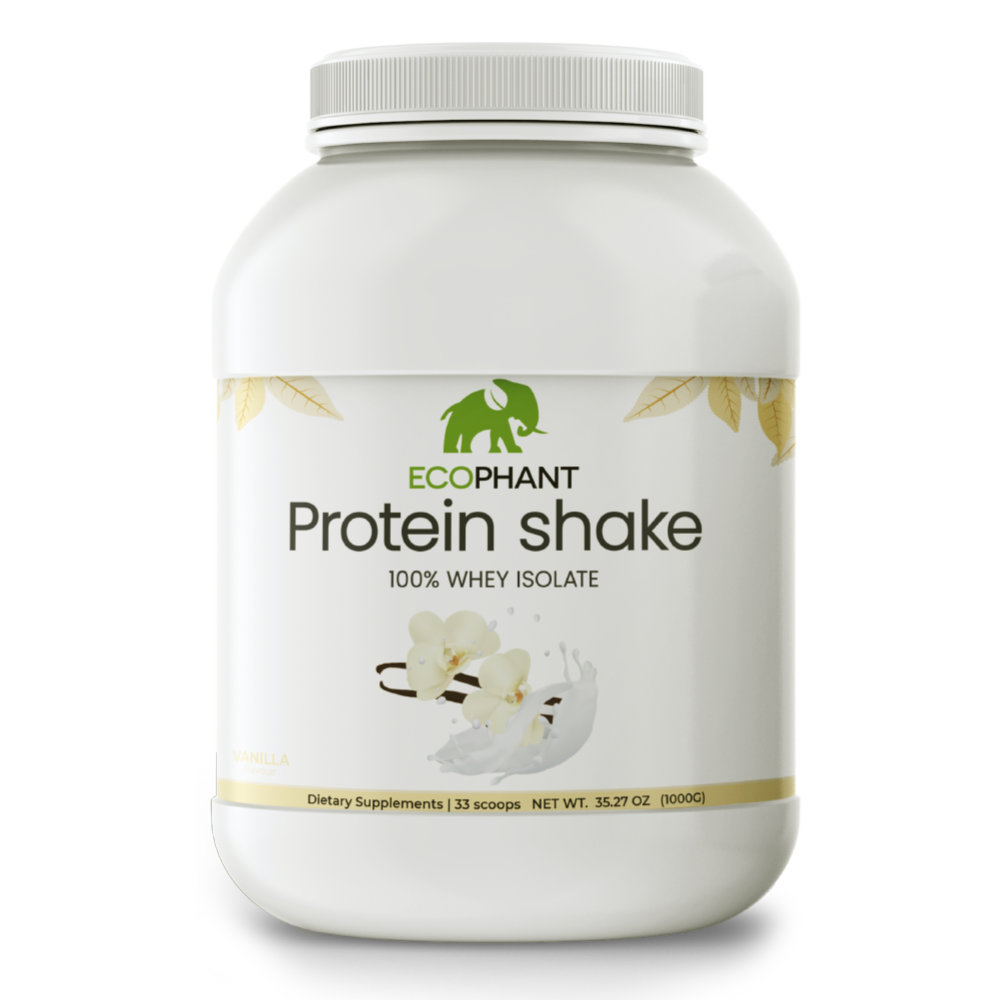 ECOPHANT Protein Shake 100% WHEY ISOLATE