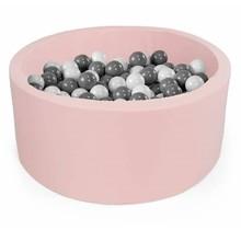 Ballenbak Rond 100x40 | Light Pink
