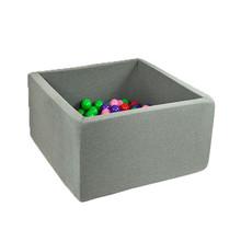 Ballenbak Vierkant 130x130x50 | Grey
