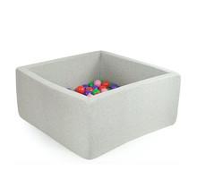 Ballenbak Vierkant 130x130x50 | Light Grey