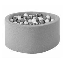 Ballenbak Rond 115x50 | Light Grey