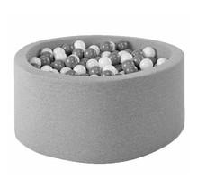 Ballenbak Rond 100x40 | Light Grey