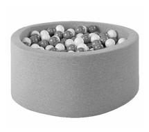 Ballenbak Rond 90x40 | Light Grey