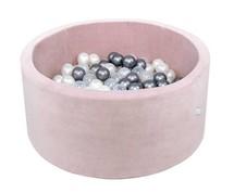 Ballenbak Rond 90x40 | Velvet Pink