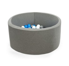 Ballenbak Rond 115x50 | Grey
