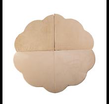 Speelmat - Bloem - Gold, 160cm