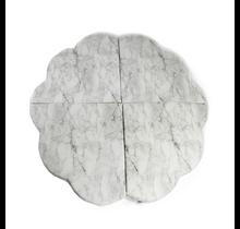 Speelmat - Bloem - White Marble, 120cm