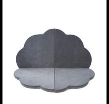 Speelmat - Bloem - Grey, 120cm