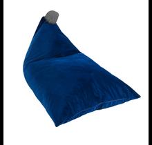 Zitzak - Navy Blue/Grey Pom Pom