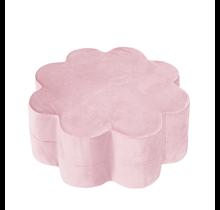 Poef - Bloem - Pink