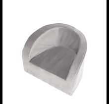 Kinderstoel - Velvet - Grey