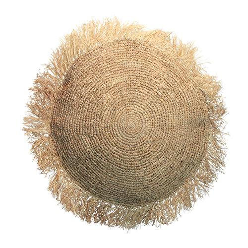 Bazar Bizar Kussen Raffia Cushion Round