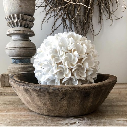 Bazar Bizar The Flower Shell Ball - Wit - L
