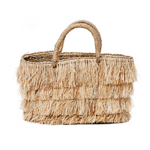 Bazar Bizar The Raffia Bahamas Basket