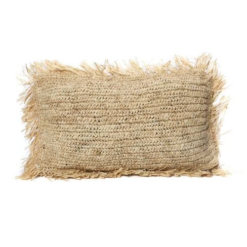 Bazar Bizar The Raffia Cushion Rectangular