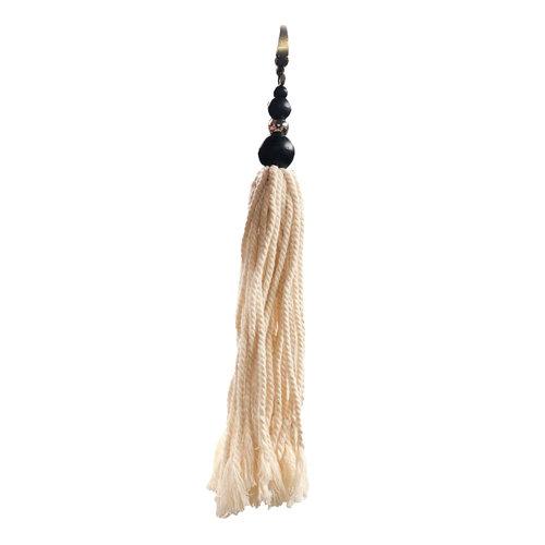 Bazar Bizar The Cotton Wood Keychain - Natural Black