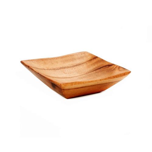 Bazar Bizar Schaal The Teak Root Salt Tray - XS