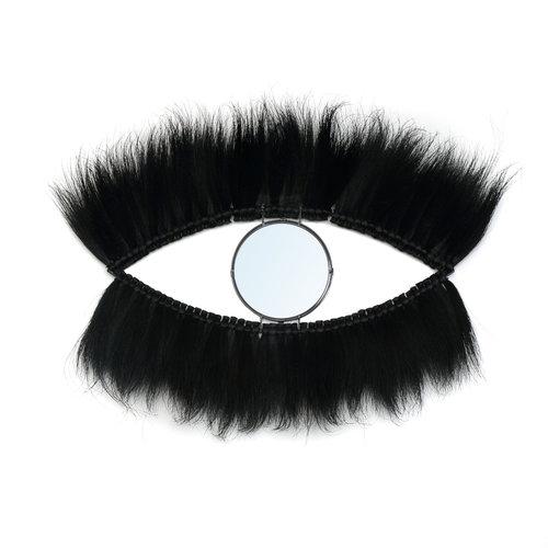 Bazar Bizar Spiegel the Black Eye Mirror