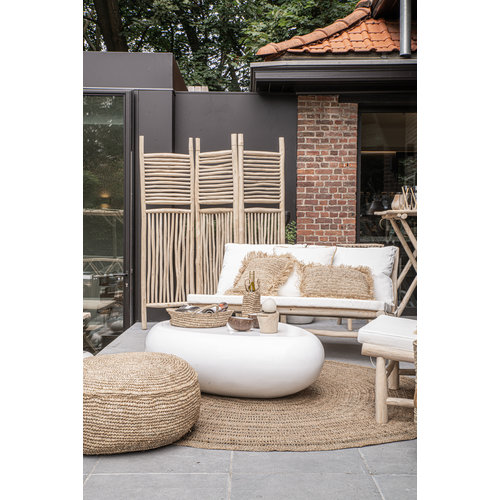 Bazar Bizar The Island Two Seater Bank - Natural Wit