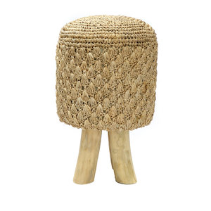 Bazar Bizar The Raffia Tressed Stool