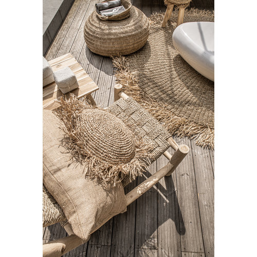 Bazar Bizar Kussen the Jute - Natural