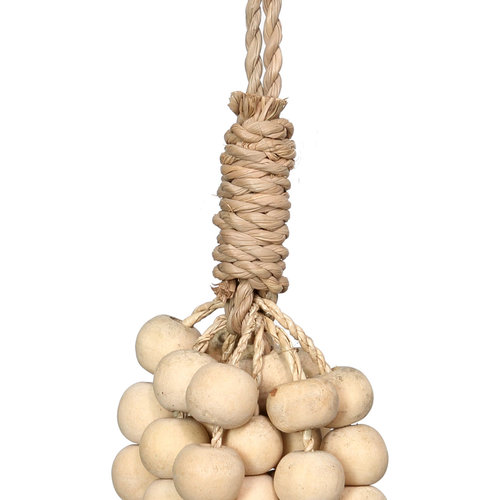 Bazar Bizar Tassel The Wooden Beads - Natural