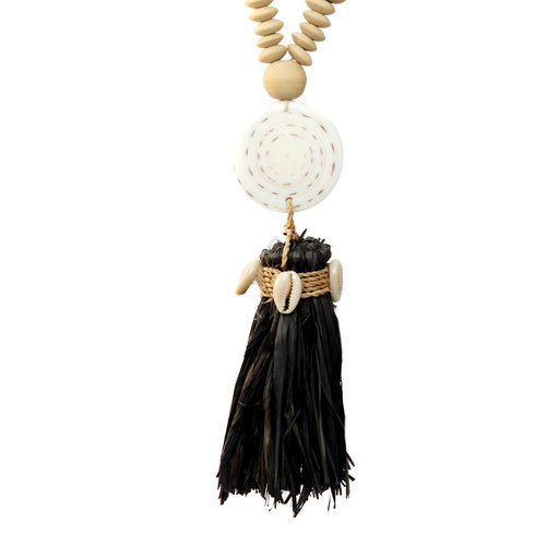 Bazar Bizar The Lovina Necklace - Natural Black