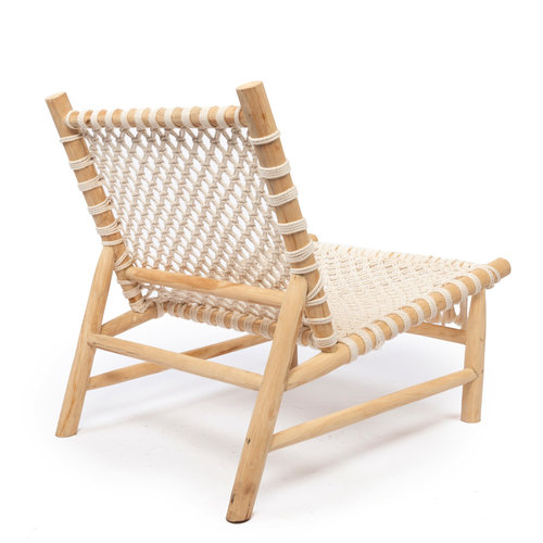 Bazar Bizar Fauteuil The Island Rope One Seater - Natural Wit