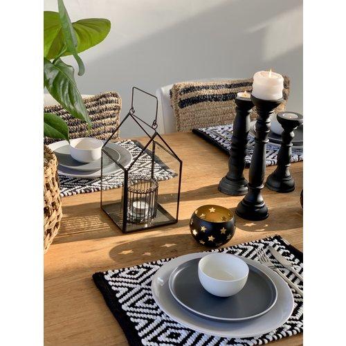 Yoshiko Home Obi - Kandelaar Zwart