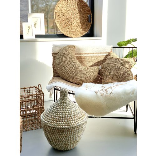 Yoshiko Home Sunda - Sierkussen Naturel M - Copy