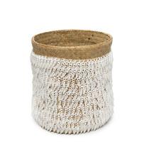 The Pandan Basket #2 - Natural White