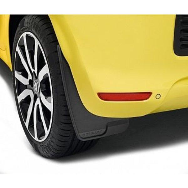 Renault Twingo Renault Twingo - Spatlappen - Zwart