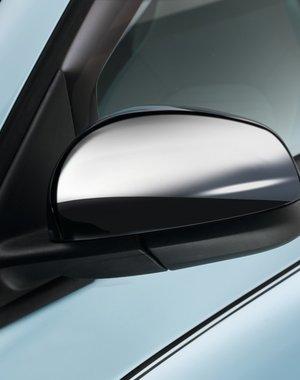 Renault Twingo Renault Twingo - Chromen spiegelkappen - Set van 2