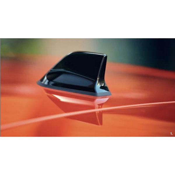 Renault Clio V   2019 – heden Renault Clio (vanaf 2019) - Haaienvin Antenne - Zwart