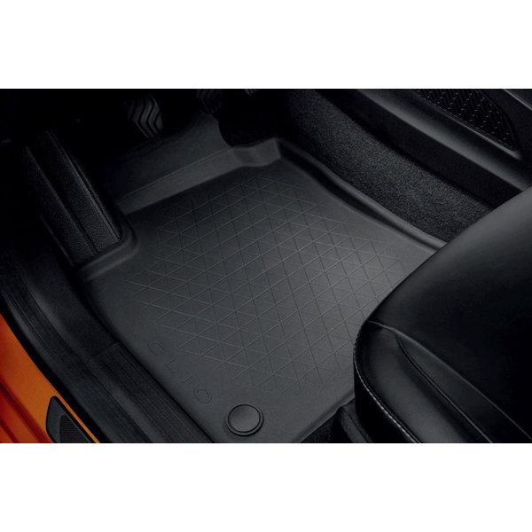 Renault Clio V   2019 – heden Renault Clio (vanaf 2019) - Automatten – rubber set van 4