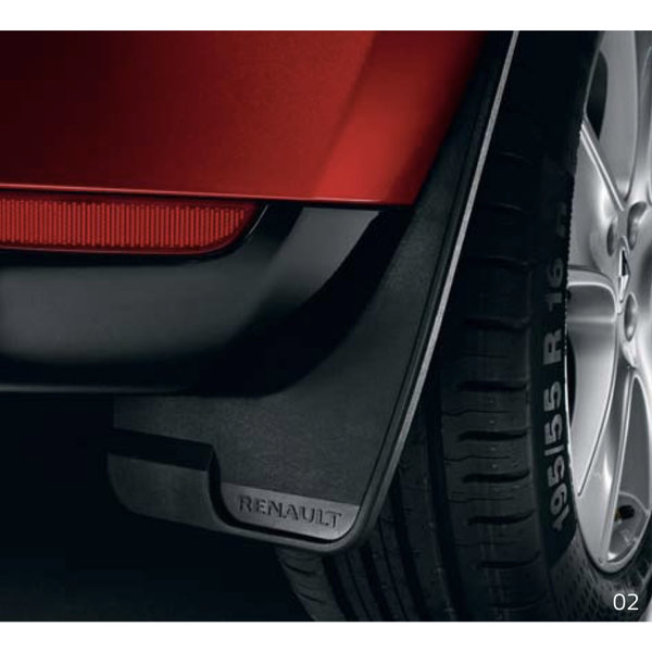 Renault Clio V | 2019 – heden Renault Clio (vanaf 2019) - Spatlappen