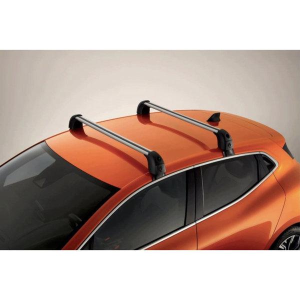 Renault Clio 5 (vanaf 2019) Renault Clio - vanaf 2019 - Dakdragers - QuickFix Aluminium