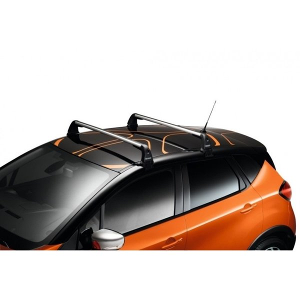 Renault Captur (2013 – 2019) Renault Captur (2013 – 2019) – Dakdragers - Set van twee dakdragers