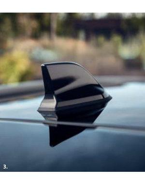 Renault Captur II | 2019 – heden Renault Captur (vanaf 2019) – Antenne - Haaienvin