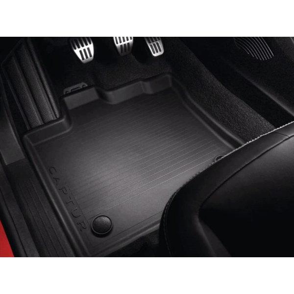 Renault Captur   2019 – heden Renault Captur (vanaf 2019) – Automatten - Rubber
