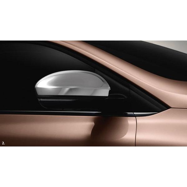 Renault Megane | 2016 – heden Renault Megane (vanaf 2016) - Spiegelkappen - Chrome - Set van 2