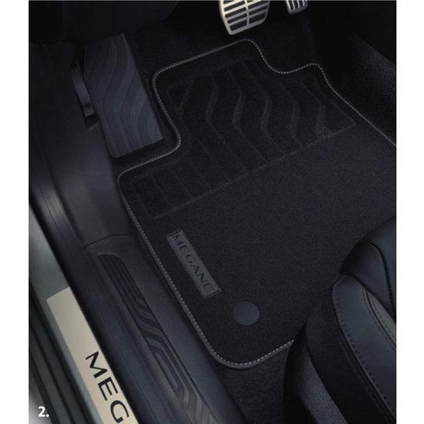 Renault Megane   2016 – heden Renault Megane (vanaf 2016) - Automatten - Stof - Set van 4 matten