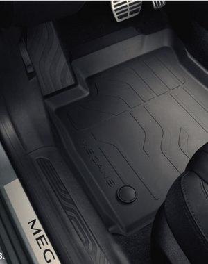 Renault Megane | 2016 – heden Renault Megane Hatchback (vanaf 2016) - Automatten - Rubber