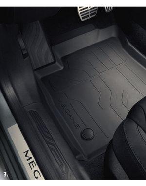 Renault Megane IV | 2016 – heden Renault Megane (vanaf 2016) - Automatten - Rubber