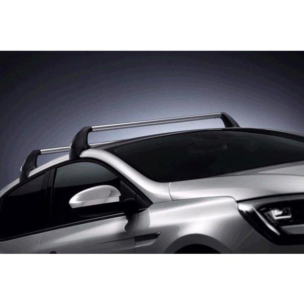 Renault Megane | 2016 – heden Renault Megane Hatchback (vanaf 2016) - Dakdragers - Aluminium